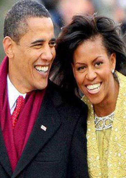 اوباما و میشل، برگزیده افکار عمومی آمریکا